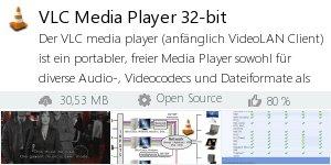 Infocard VLC Media Player 32-bit