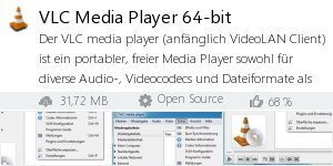 Infocard VLC Media Player 64-bit