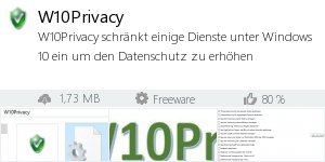 W10Privacy - Anti-Spy & Windows Tweaker