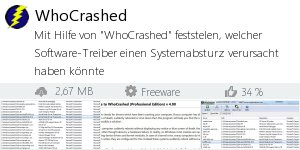 Download WhoCrashed bei Filepony.de