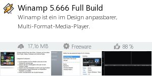 Infocard Winamp 5.666 Full Build