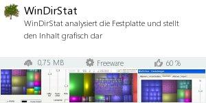 Infocard WinDirStat