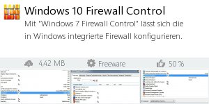 Infocard Windows 10 Firewall Control