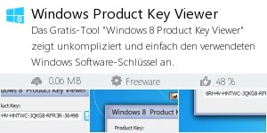 Infocard Windows Product Key Viewer