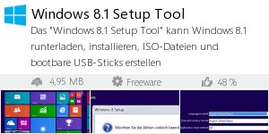 Infocard Windows 8.1 Setup Tool