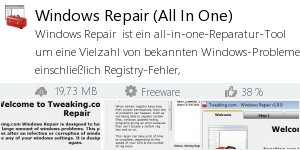 Infocard Windows Repair (All In One)