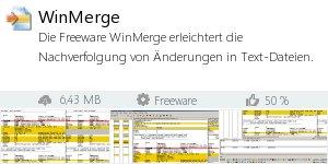 Infocard WinMerge
