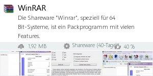 Infocard WinRAR