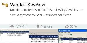 Infocard WirelessKeyView