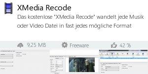 Infocard XMedia Recode