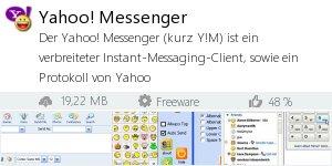Infocard Yahoo! Messenger