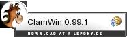 Download ClamWin bei Filepony.de