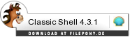 Download Classic Shell bei Filepony.de