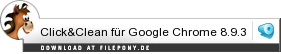 Download Click&Clean für Google Chrome bei Filepony.de