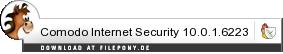 Download Comodo Internet Security bei Filepony.de