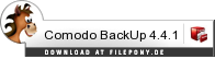 Download Comodo BackUp bei Filepony.de