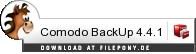 Download Comodo BackUp bei Filepony.de
