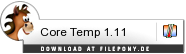 Download Core Temp bei Filepony.de
