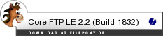 Download Core FTP LE bei Filepony.de