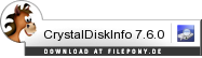 Download CrystalDiskInfo bei Filepony.de