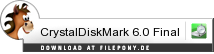 Download CrystalDiskMark bei Filepony.de