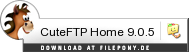 Download CuteFTP Home bei Filepony.de