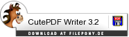 Download CutePDF Writer bei Filepony.de