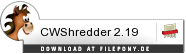 Download CWShredder bei Filepony.de