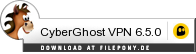 Download CyberGhost VPN bei Filepony.de
