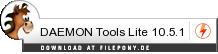 Download DAEMON Tools Lite bei Filepony.de