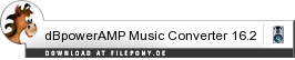 Download dBpowerAMP Music Converter bei Filepony.de