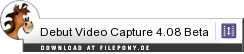 Download Debut Video Capture bei Filepony.de