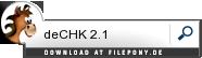 Download deCHK bei Filepony.de