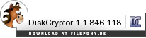 Download DiskCryptor bei Filepony.de