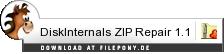 Download DiskInternals ZIP Repair bei Filepony.de