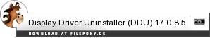 Download Display Driver Uninstaller (DDU) bei Filepony.de