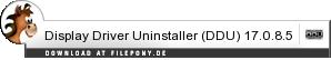 Download Display Driver Uninstaller (DDU) bei Filepony.de
