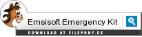 Download Emsisoft Emergency Kit bei Filepony.de