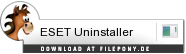 Download ESET Uninstaller bei Filepony.de