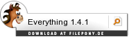 Download Everything bei Filepony.de