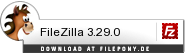 Download FileZilla bei Filepony.de