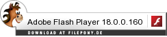 Download Adobe Flash Player bei Filepony.de