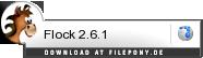 Download Flock bei Filepony.de