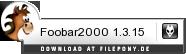 Download Foobar2000 bei Filepony.de