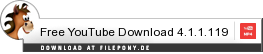 Download Free YouTube Download bei Filepony.de