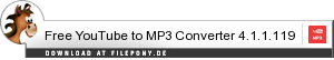 Download Free YouTube to MP3 Converter bei Filepony.de