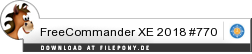 Download FreeCommander XE bei Filepony.de