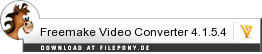 Download Freemake Video Converter bei Filepony.de