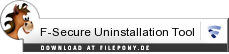 Download F-Secure Uninstallation Tool bei Filepony.de