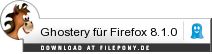 Download Ghostery für Firefox bei Filepony.de